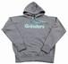 GRINDERS logo hoodie (Gray x Tiffany)