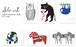 ポストカードセット 「アニマル」全6枚 / Sho.art Postcard Set [Animal]