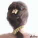 真鍮製のヘアゴム【hair tie-gather(S)-】