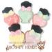 【期間限定セール360円】マニキュアのアイシングクッキー SHON-PY HEART 結婚式プチギフト