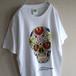 1990's〜2000's [CANCUN REEF COZUMEL] カラベラ プリントTシャツ ホワイト 表記(S) メキシカンスカル