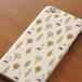ハードスマホケース(大きいサイズのiPhone用)いしカバくんボタニカル柄