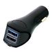 Quick Charge 3.0対応 急速充電 5.4A  USB Type-A×2 車載用充電器