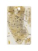 FLASH NY回路地図 ICカードケース 白【名入れ無料サービス実施中】