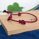 men's & ladies■kumo bracelets(red)