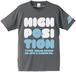 ハイポジ(セメント)|懐かしいカセットテープ Tシャツ