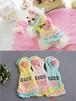 【アウトレット】★かわいい犬服ワンピ/ドレス  マカロンパーカーワンピ ピンク