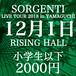SORGENTI LIVE TOUR 2018 in YAMAGUCHI@RISING HALL(小学生以下)