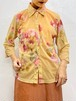 (TOYO) flower pattern see-through l/s shirt
