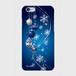 【iPhoneシリーズ】Winter Holiday Royal Blue ウィンター・ホリデー ロイヤルブルー ツヤありハード型スマホケース