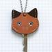 【送料無料】猫の本革キーカバーS KCS106
