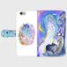 iPhone6/6s 星月夜のおさんぽ 手帳型スマホケース