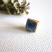 jujumade Blue Square Earring