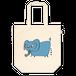 トートバック青い象