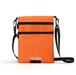 サコッシュ バッグ ショルダーバッグ オレンジ×ブラック リバーシブル 小さめ 旅行 大容量 防水 phab362