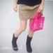 【送料無料】メッセージトートバッグ I ♡ ECO FUR pink