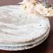 粉引き七寸皿