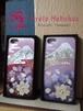 富士と螺鈿桜iphoneケース
