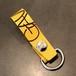 LEATHER KEY HOLDER (YELLOW) / GAVIAL