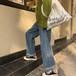 春秋 新作 プラスサイズ ファッション 人気 カジュアル ワイドパンツ 着やせ パンツ・ボトムス