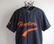1990's [HOOTERS] ベースボールシャツ ブラック 表記(XL) フーターズ