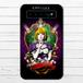 #044-018 モバイルバッテリー おすすめ iPhone Android かわいい おしゃれ 男性 向け 不思議の国のアリス 人気 スマホ 充電器 タイトル:Dark Alice 作:kis