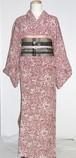 京摺り染小紋 単衣 美品