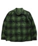 TOWN CRAFT/OMBLE FLANNEL OPEN SHIRTS