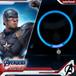 InfoThink ライティングカラー MARVEL アベンジャーズ エンドゲーム 光る首輪 キャプテン・アメリカ iCollar(CA)