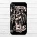 #016-016 iPhoneケース スマホケース おしゃれ クール ロック メンズ Xperia iPhone5/6/6s/7/8/X ギター ARROWS AQUOS  タイトル:KISS OF DEATH 作:nero
