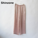 THE SHINZONE/シンゾーン・サテンパンツ