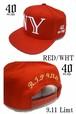 40OZ NYC Balmain Inspired NY 9.11 Limited Snapback