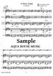 O Holy Night(さやかに星はきらめき)賛美歌【アカペラ楽譜+練習用音源♪セット販売】