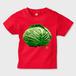 SAVOY(サボイ・キャベツ)2  キッズTシャツ レッド