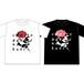 [T-shirts]踊ってばかりの国×ina takayukiコラボ『薔薇 Tee』