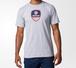 Adidas X USA Volleyball クルーネックTシャツ グレー