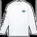 vibeca ロングスリーブTシャツ white
