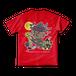 <レッドTシャツ 背面>ハロウィンみーちゃん