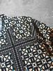 geometric patterned shirt