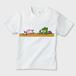 アリー&ファジー Study キッズTシャツ (白)