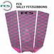 FCS  デッキパッド SALLY FITZGIBBONS GRAY/BRIGHT PINK  サリー・フィッツギボンズ