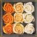 フラワーフレグランスローズ オレンジカラー(入浴剤)