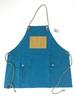 Mountain reversible apron[Turquoise Blue]