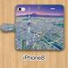 【受注生産】パノラマ「浅草・夜景」iPhone8用 手帳型ケース
