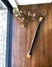 木彫り孫の手☆ バリ島から届いた猫の可愛いデザイン ひも付き