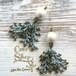 Coralreef motif Pierce -Cotton Pearl-