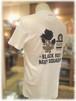 【 CASTELBAJAC 】 - Italy -      カステルバジャック 半袖Tシャツ                                    ブラックローズ プリント柄