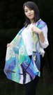 和柄スカーフ「古の風」