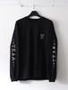 FUJITOSKATEBOARDING Long Sleeve T-Shirt(TEAM ver.) Black