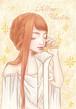 黄色い戦士女の子のハガキ